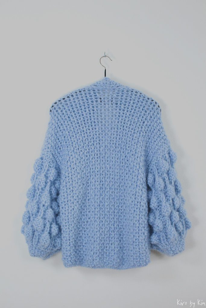 Baby blue short knit Kiro by Kim