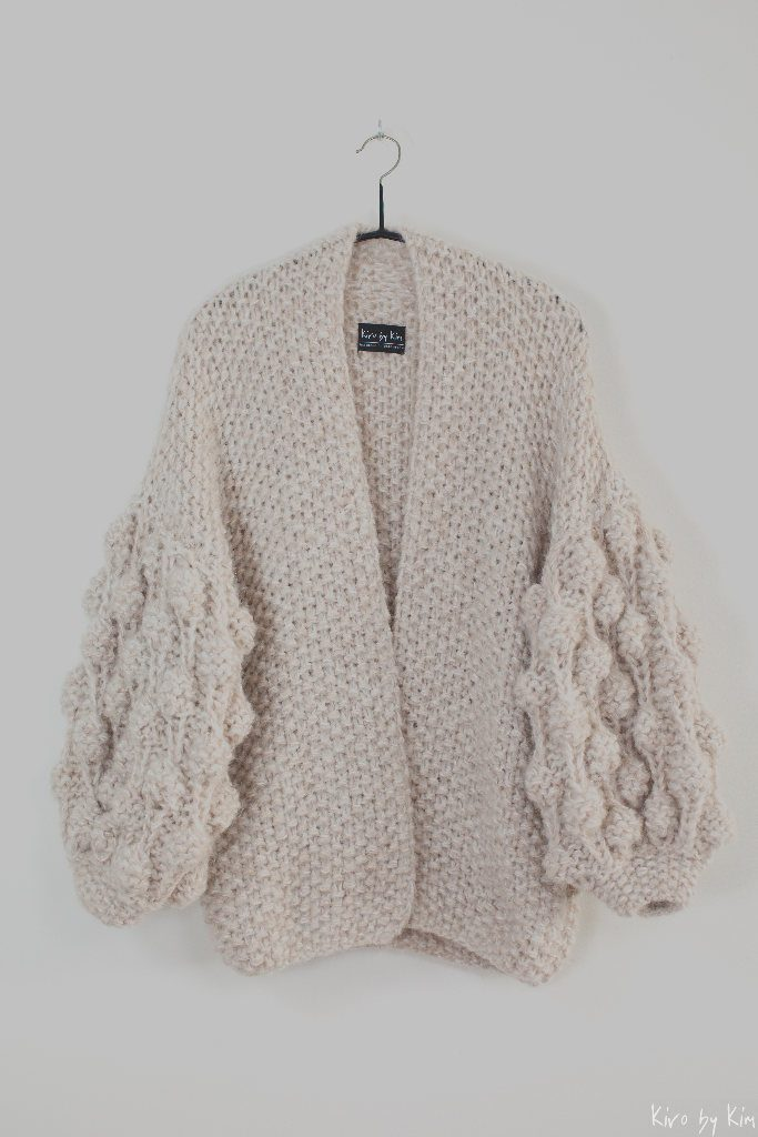 Beige and nude knit Kiro by Kim