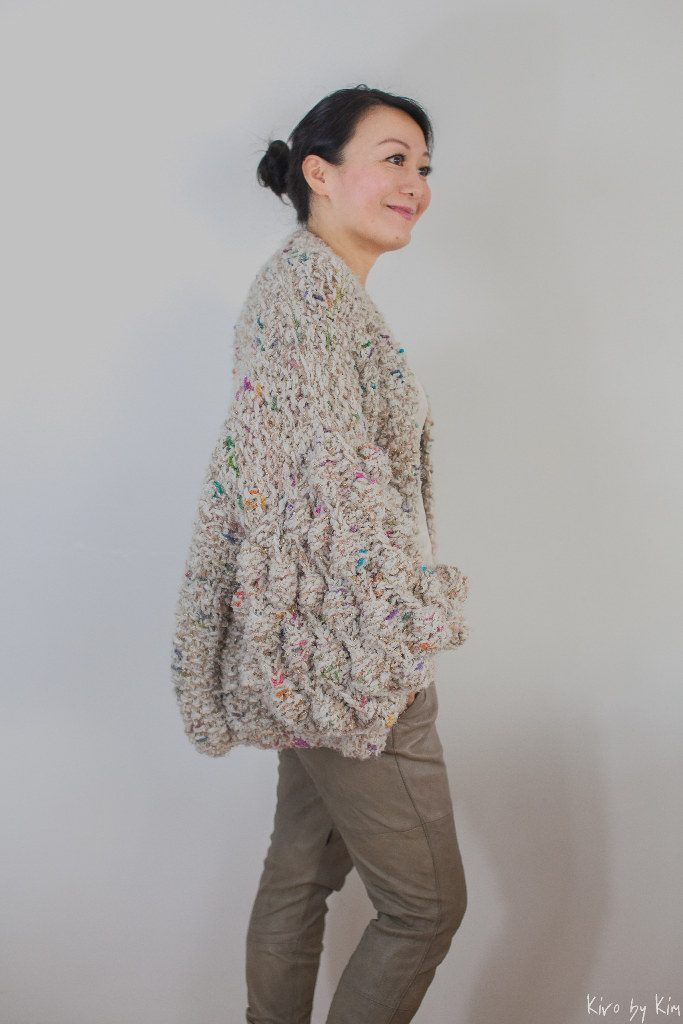 Beige with colors knit Kiro by Kim