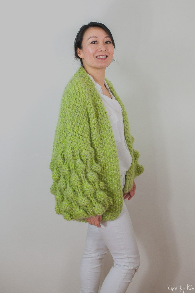 Green knit Kiro by Kim