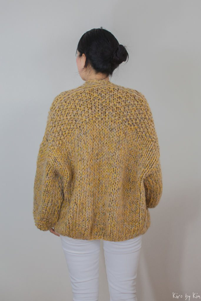 Mustard yellow knit Kiro by Kim