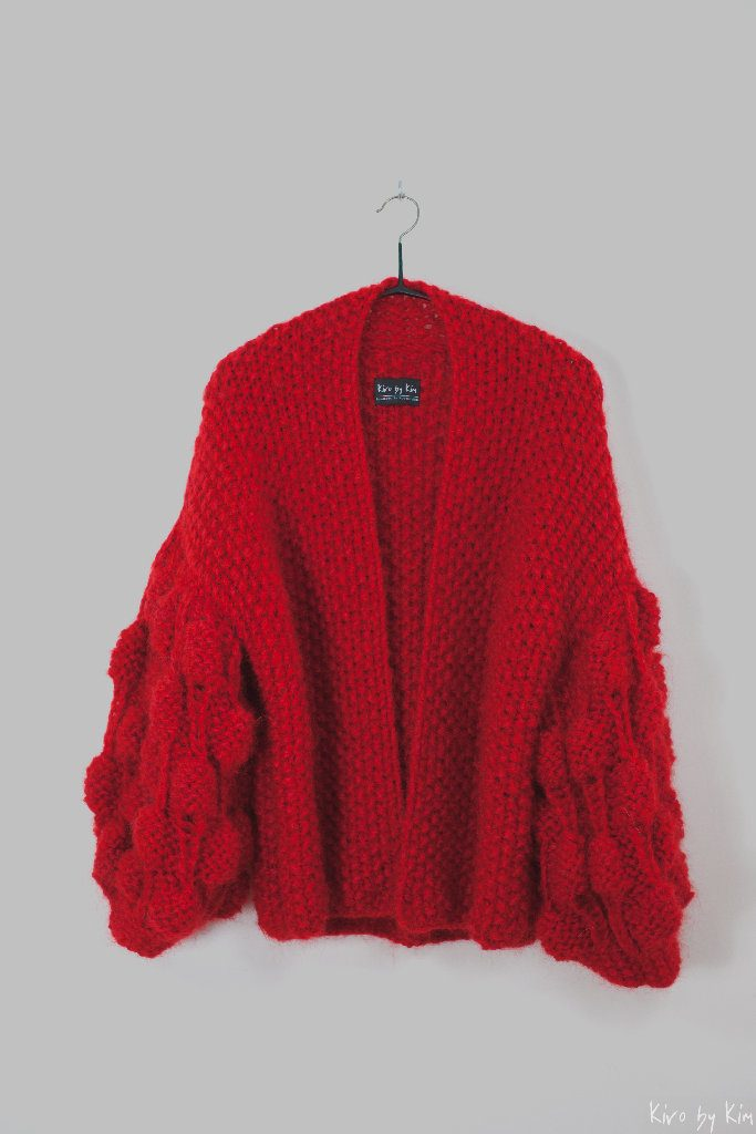 Red knit Kiro by Kim
