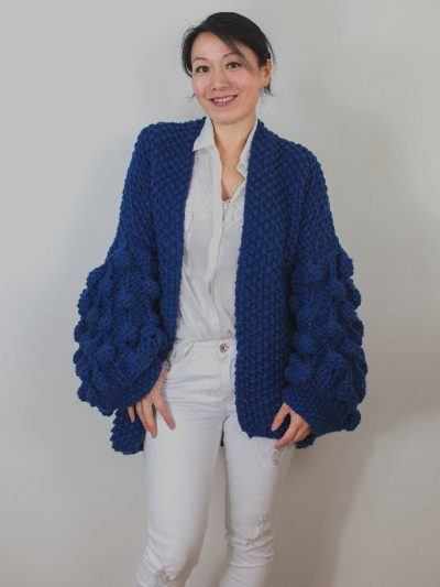 Royal blue knit Kiro by Kim
