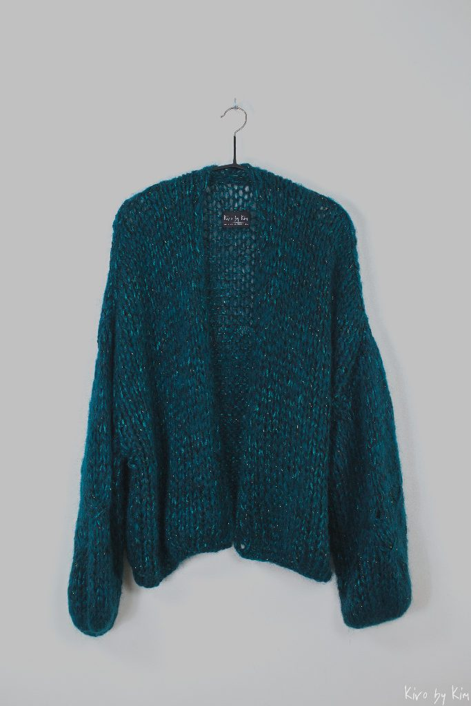Emerald oversized knit Kiro by Kim