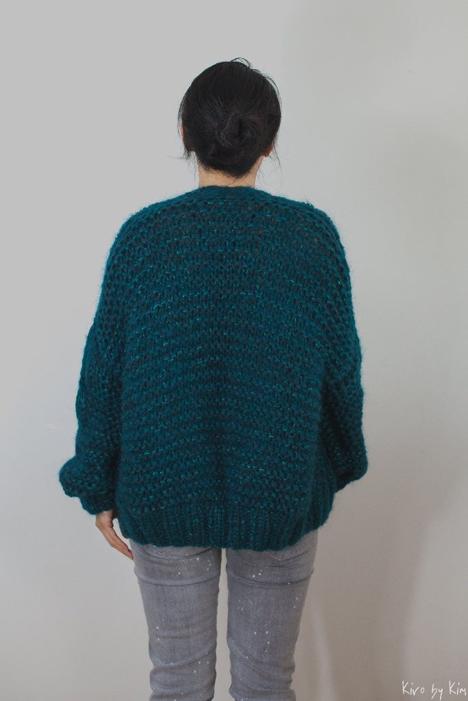 Emerald short knit Kiro by Kim